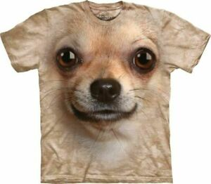 The-Mountain-Big-Face-Chihuahua-Face-Adult-Unisex-T-Shirt