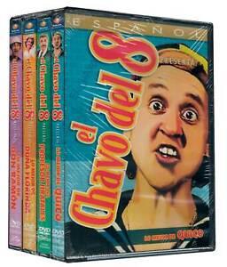 El Chavo del 8 4-Pak Key Characters DVD New