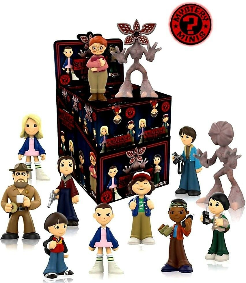 NEW  Set of 12 Funko  Mystery Mystery Mystery Mini Blind Boxes STRANGER THINGS Unopened gift b13a78