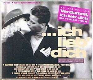 Ich-lieb-039-Dich-1990-EMI-Matthias-Reim-Ina-Deter-Purple-Schulz-Sch-2-CD