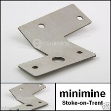 Classic Mini Rear Fog Light Bracket Stainless Steel L/H n/s rover mount cooper s