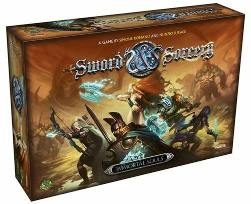 SWORD AND SORCERY IMMORTAL SOULS CARD GAME
