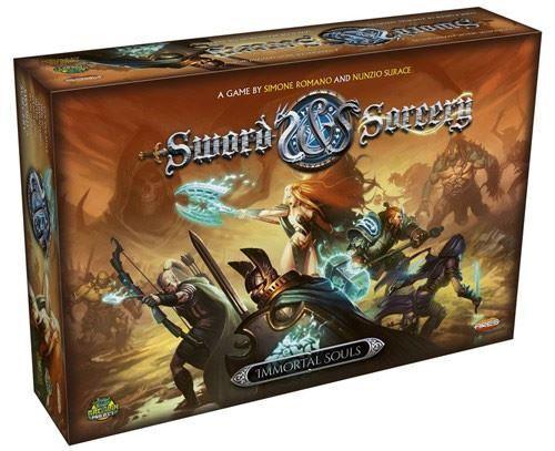 SWORD and Sorcery immortali ANIME Gioco di Carte
