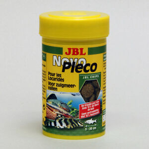 JBL-NovoPleco-100ml-Novo-Pleco-schede-nell-039-imballaggio-originale-pesce-gatto
