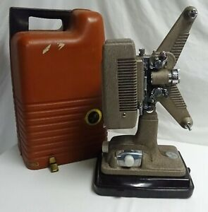 Revere Model 48 Vintage 16mm Film Projector W/ Case & Reel Parts/Repair