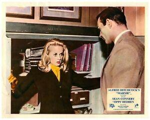 Marnie ORIGINALE LOBBY CARD Sean Connery TIPPI Edro Alfred Hitchcock 1964