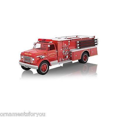 Hallmark 2014 1971 GMC Fire Engine Fire Brigade Series Ornament