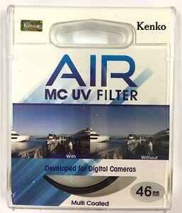 Kenko Air Slim MC UV Filter Multi-Coated Ultraviolet Camera Lens Filter 46mm
