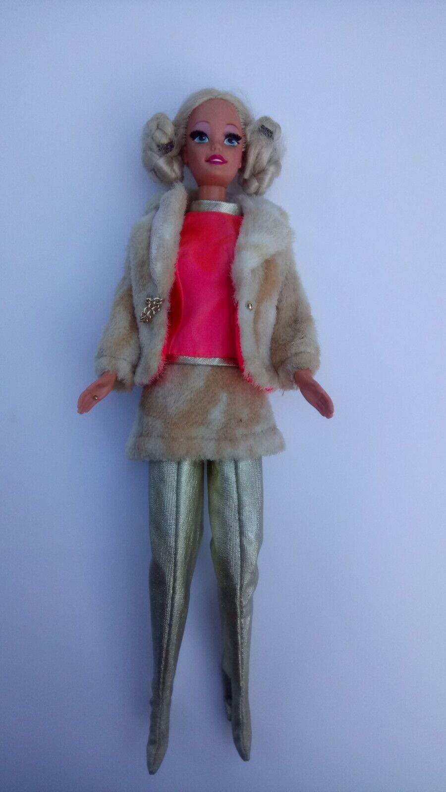 Vintage Barbie - Barbie 1969  Fab Fur  complete + doll