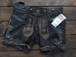 Damen kurze Lederhose Josefine   eBay