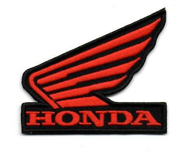 For Honda Wing Motorcycle Bike Racing P352 Embroidered Ironon Patch High Quality