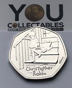 2020 Christopher Robin 50p Fifty Pence Coin BU BRILLIANT UNCIRCULATED - FREE P&P