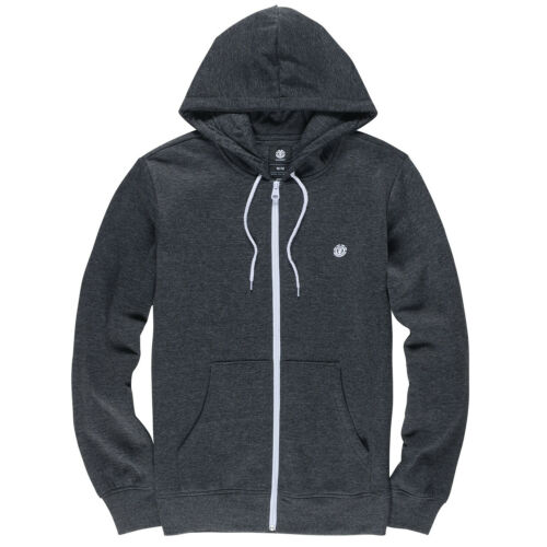 Element Cornell Classic Mens Hoody Zip Charcoal Heathe All Sizes
