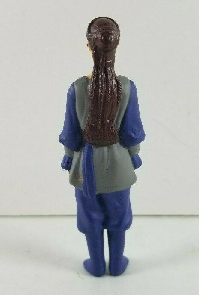 "StarWars figurine : Star Wars Episode 1 Taco Bell KFC Pizza Hut Padme PVC Toy Figure 1999 3"" Tall"