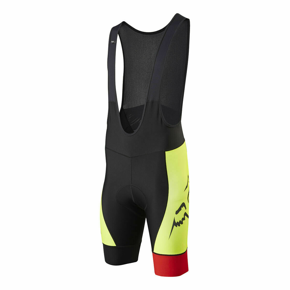 FOX RACING LE SAVANT MTB BIB SHORT FLO Gelb XL  15775-130-XL
