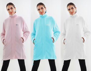 Brilliant Details Zu Womens Ladies Funnel Neck Fleece Bench Expired Sweat Jacket Long Top S M L Xl Camellatalisay Diy Chair Ideas Camellatalisaycom
