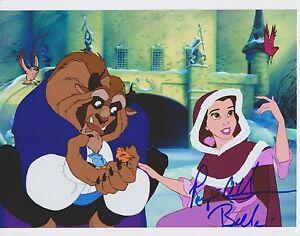 Paige Ohara Signed Photo Voice Of Belle Walt Disneys Beauty