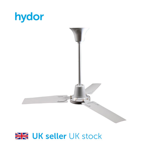Hydor hcf 900 ceiling fan 36 inch ebay ceiling fan 36 inch destratification sweep fan 230v speed controllable aloadofball Images