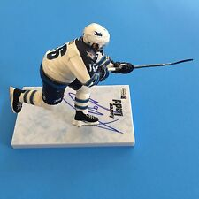 Andrew Ladd Jets Signed Auto McFarlane Action Figurine Beckett BAS COA