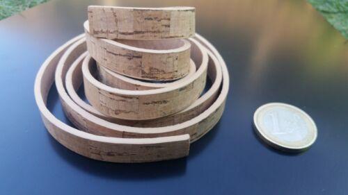 cinta 1 metro Corcho plano G 10x2mm pulsera collar corchos cinta cuerda COR-03