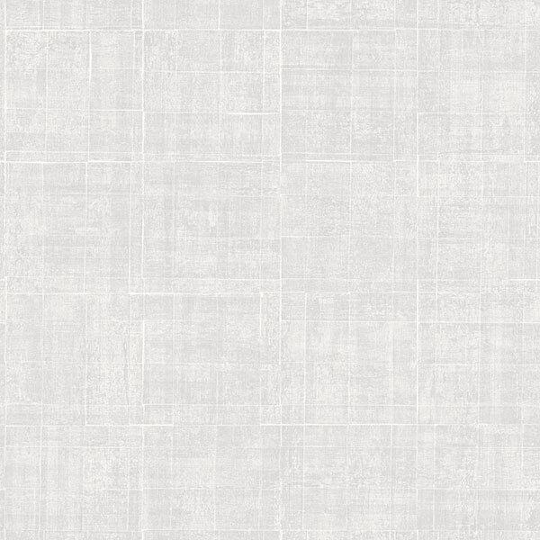 G67459 - Natural FX Grey Criss cross grid effect Galerie Wallpaper