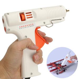 Glue Guns 150w 100-240v Eu Plug Hot Melt Glue Guns Adjustable Temperature Copper Nozzle Heater Heating High Power Fast Heat Temperature