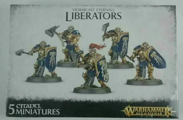 Warhammer Age of Sigmar Stormcast Eternals Liberators Games Workshop 99120218014