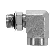 6805 10 08 Hydraulic Fitting 58 Male O Ring X 12 Female Npt Pipe 90