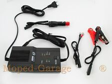 Moto Scooter Chargeur De Batterie Diagnostic Fonction 6 et 12 Volt Automatique