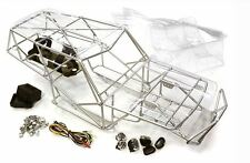 Integy Steel Roll Cage Tube Frame Chassis Set Axial Wraith Rock Crawler Racer