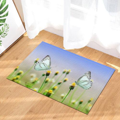 "Spring butterfly messenger Shower Curtain Bathroom Decor Fabric /& 12hooks 71x71"""