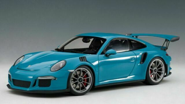 Autoart Mini Car 78167 1 18 Porsche 911 Gt3 Rs Finished Blue Sky For Sale Online Ebay