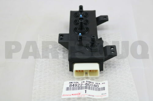 FRONT POWER SEAT 84922-60180 Details about  /8492260180 Genuine Toyota SWITCH