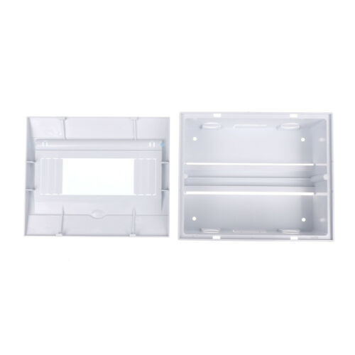 5-8 ways Plastic distribution box for circuit breaker indoor on the wall RS I2