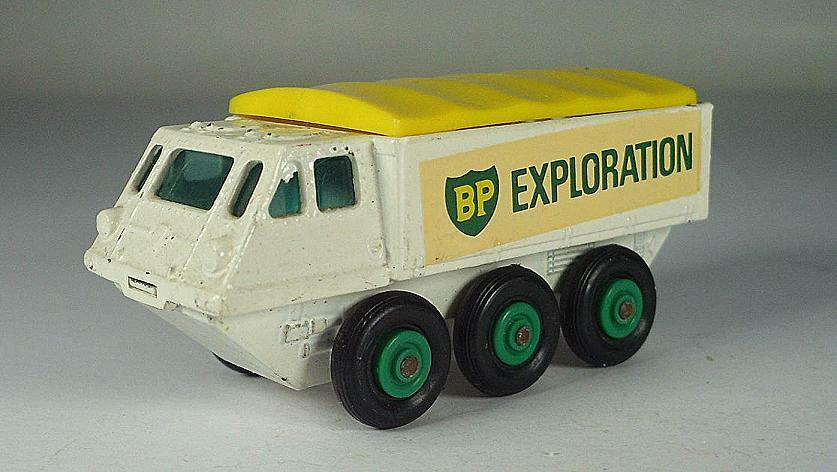 MATCHBOX REGULAR WHEELS Nº 61 B maintiendrait Stalwart exploration BP BPW LESNEY 1  564