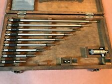 Mitutoyo 2 To 12 Inside Micrometer Set Solid Rod
