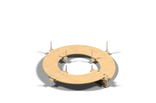 Gleiswendel Spur N 8mm stark 1-5,5 Umdrehungen frei wählbar Spur Z 2-gleisig