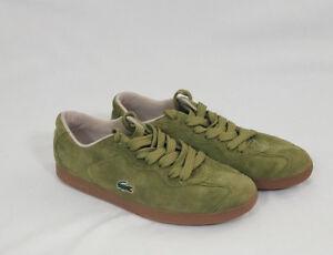 in scamosciata casual da uomo pelle Sneaker taglia verde Lacoste 6 5 qx1wEd44I