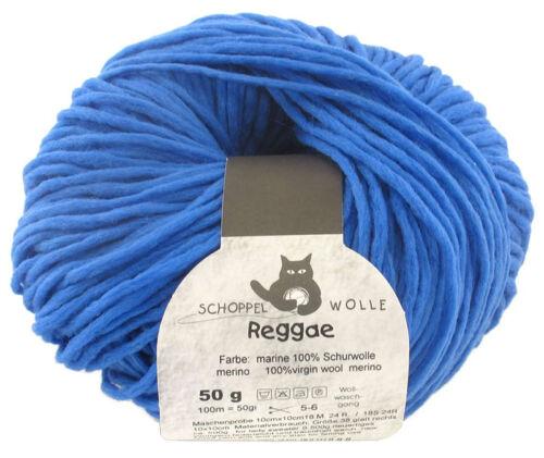 Schoppel lana 50g reggae ombre 50g color 4201 Korn azul