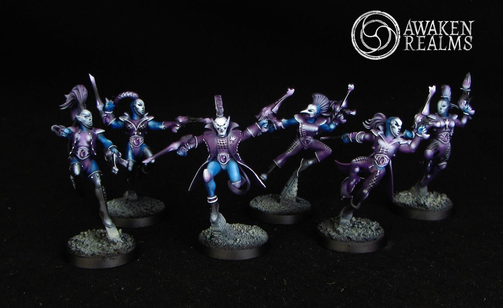 Warhammer 40K Eldar Harlequins (commission)