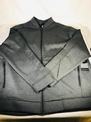 Greystone Swiss Tech Performance Gear Mens Faux Fur Hooded Bomber Parka Jacket