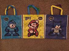 E3 2017 EXCLUSIVE - Pixel Pals Mega Man, Super Mario Bros 3,  Batman Joker bags