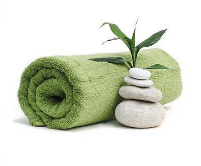 BRAND NEW 6PCs 100% COTTON LIME COLOUR LUXURY TOWELS EXTRA LARGE BATH TOWEL SETS