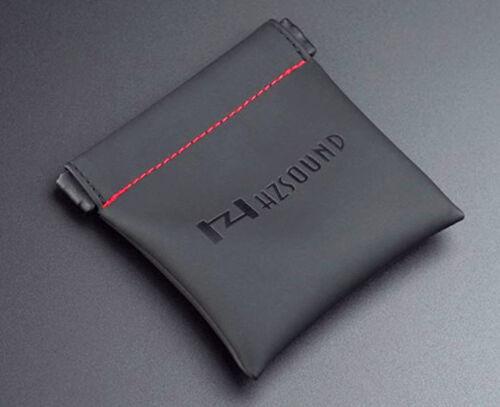 Hi Quality Luxury PU Leather Headphones//Earphones Storage Carry Squeeze case