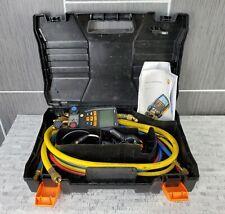 Testo 557 Digital Manifold Kit W 2 Clamp Probes Amp Vacuum Probe