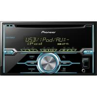 Pioneer Fh-x520ui Double Din In-dash Cd/am/fm Receiver W/ Mixtrax And Pandora Su