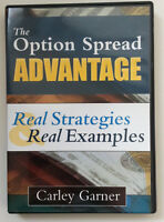 Rare Option Spread Advantage By Carley Garner Msrp $149.00 Stock Trading Dvd