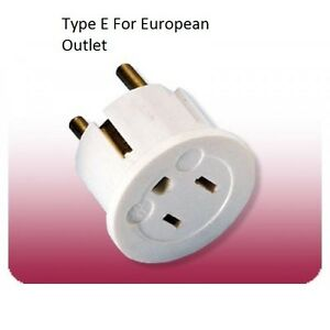 Image Is Loading Us Eu Au Plug Adapter Converter Europe Usa