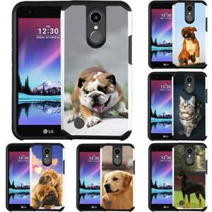 big sale 4c65b 70054 Details about Dog Cat Puppy Design Case Phone Cover for LG K20 PLUS LG K20V  LG Harmony