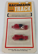 HO Gauge Bachmann #1721 Terminal Plug Only with Wire Leads 2 pcs